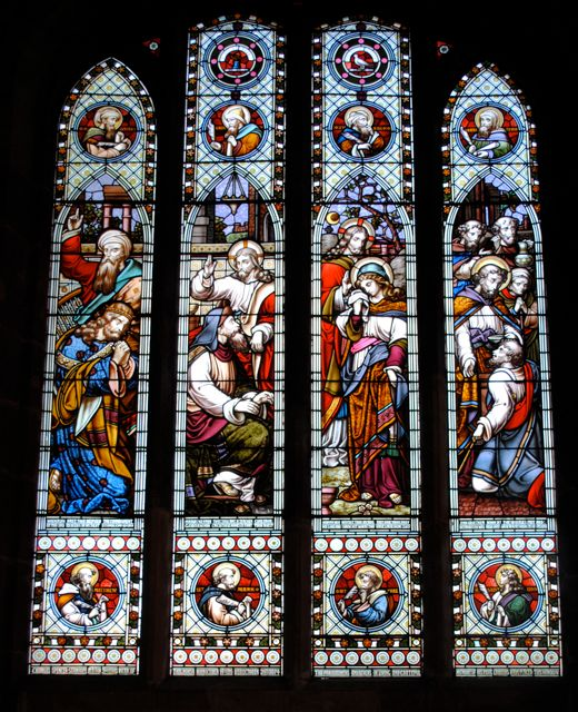 STANHOPE WINDOW (N. AISLE)
